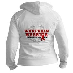 I have to depend on Warfarin the rest of my life because of me having multiple pulmonary embolisms and because of my clotting disorders.