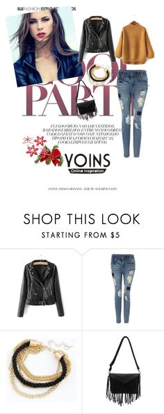 """YOINS"" by almma-karic ❤ liked on Polyvore featuring women's clothing, women's fashion, women, female, woman, misses and juniors"