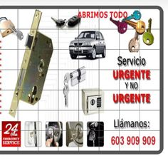 En cerrajeros #Valencia sabemos abrir coches, puertas y persianas. Instalamos solo cerraduras de calidad.