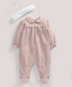 Girls Welcome to the World Pink Bows All-in-One - NEW Arrivals - Mamas & Papas