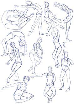 Balet sketches by SajoPhoe.deviantart.com on @DeviantArt