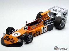 F1 Paper Model - 1974 Dutch GP March 741 Paper Car Ver.6 Free Vehicle Paper Model Download