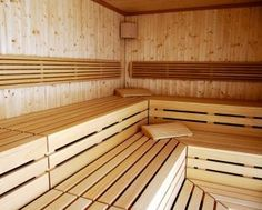 instructions sauna building instructions - build your own home sauna - William L Taylor Diy Sauna, Bathroom Door Sign, Portable Sauna, Traditional Saunas, Small Bathroom Renovations, Steam Sauna, Spa Rooms, Sauna Room, Backyard Kitchen