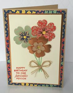 Stampin' Up! Demonstrator stampwithpeg –Affectionately Yours : Flowers for the Birthday Girl. Just a quick one today, I have lots to do before I go to Amsterdam on Thursday, I am so excited…