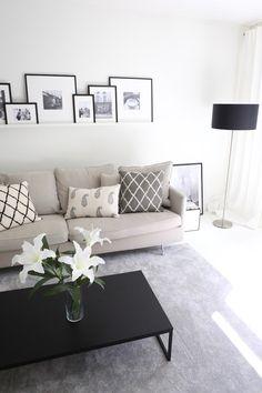 Homevialaura   gallery wall   art wall   livingroom   Chhatwal & Jonsson cushions