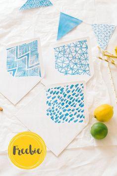 Futter für Briefkuverts zum Silberausdrucken Templates Printable Free, Free Printables, Sag Ja, Blog, Container, Crafts, Kid Birthdays, Templates, Tutorials
