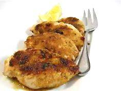 Skinny, Fiery Lemon Glazed Chicken 6pts+ Weight Watchers (236 calories)