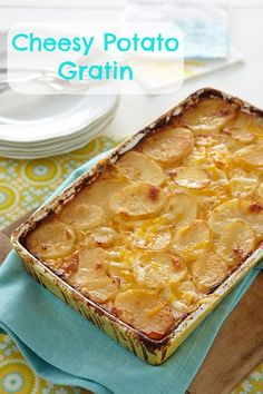 Easter recipes: Cheesy Potato Gratin