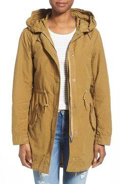 Penfield 'Almondbury' Hooded Drop Tail Jacket
