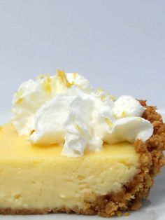 Just Another Hang Up: Creamy Dreamy Lemon Pie . . . 8 whole graham crackers 3 Tbsp. butter 1 (14 oz.) can sweetened condensed milk 2 large eggs 1/2 cup fresh lemon juice 1 Tbsp. lemon zest Whipped cream (optional)