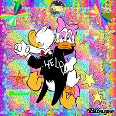 Le tango de Donald et Daisy