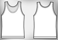 Free Download »   http://www.t-shirt-template.com/girl-tank-top-t-shirt-template/   Template by Kraftmedia. Kraftmedia is a graphic design and screen printing company located in Vancouver BC, Canada. Kraftmedia design and printing team are dedicated to transfer your idea onto wide range of stylish clothing and accessories at unbeatable prices.   T-shirt Vector & PSD templates you can use them to preview how your illustration or apparel design would look garment after