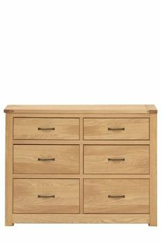 Buy Oxford 4 + 2 Drawer Wide Chest from the Next UK online shop
