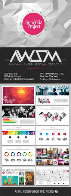 Biz Project PowerPoint Presentation - Creative Powerpoint Templates