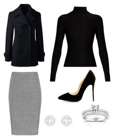 Lawyer by abberella888 on Polyvore featuring polyvore, fashion, style, Acne Studios, Lands' End, Annello and clothing