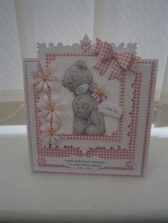 Cute | docrafts.com 3d Cards, Easel Cards, Cute Cards, Crafts To Do, Hobbies And Crafts, Birthday Cards For Boys, Birthday Ideas, Happy Birthday, Disney Cards