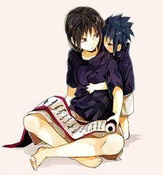 Sasuke and Itachi, Naruto
