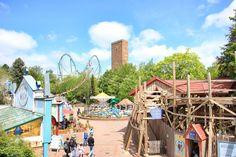 Daj się rozerwać w niemieckim parku rozrywki Indiana, Fair Grounds, Park, Travel, Viajes, Parks, Destinations, Traveling, Trips