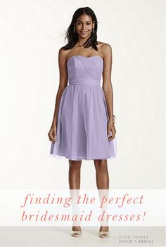 Tips for Finding the Perfect Bridesmaid Dresses on @YWExperience! #YWE2015 #YourWeddingExperience