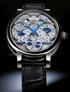 Master Horologer: DIMIER by BOVET - The Récital 17 (Triple time zone, moon phase)