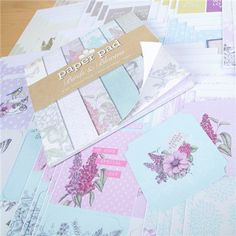 Craftwork Cards Birds and Blooms Mega Variety Topper Collection and 8x8 Paper Pad (380565) | Create and Craft