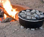 Eat Outside Day: Dutch Oven Chile Verde Recipe by Julie Ross Godar