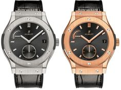Hublot Classic Fusion 8-day power reserve watches