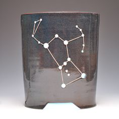 ORION (LED-Illuminated Lantern). $350.00, via Etsy. Ceramic Lantern, Arts Ed, Work Inspiration, Ceramic Pottery, Lanterns, Hair Accessories, Clay, Unique Jewelry, Mud