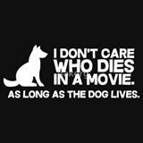 And cat, and any animal.