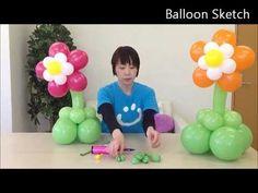 バルーンアートでお花をつくろう Balloon Flower