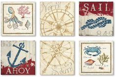 Trademark Fine Art ''Aquatic'' Canvas Wall Art Set Add some nautical style to your home with this Trademark Fine Art canvas wall art set Nautical Wall Decor, Nautical Style, Nautical Theme, Canvas Fabric, Canvas Wall Art, Horizontal Wall Art, Wall Art Sets, Artist Canvas, Art Reproductions