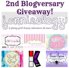 2nd Blogversary Giveaway ~ Part 1