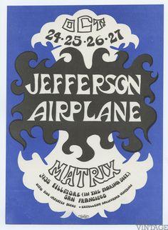 Jefferson Airplane Fan Club Party 1966 Oct 24 Matrix (AOR 2.112 )