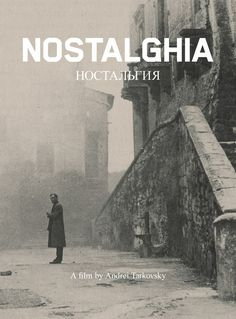 Nostalghia - Andrei Tarkovsky. Probably the most beautiful of his films, but also probably his the thinnest, as far as matter goes. Not much to chew on, intellectually, in this magnificent movie. A bit easy on the subject, a bit vain...
