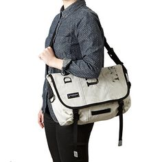 Look what I found at UncommonGoods: upcycled mail sack messenger bag... for $98 #uncommongoods