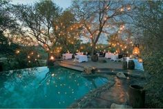 Whimsical infinity pool...love love love