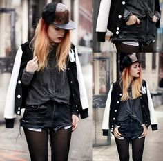 WHITE LEATHER. (by Lua P) http://lookbook.nu/look/4612971-WHITE-LEATHER