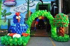 balões Galinha Pintadinha