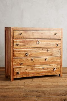Passerine Five Drawer Dresser - anthropologie.com #anthrofave