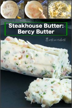 recipe that is made with shallots, white wine and parsley for making your steak made at home like the gourmet steakhouse dinner at your favorite restaurant. Steak Butter, Butter For Steaks, Steak Compound Butter, Wine Butter, Flavored Butter, Homemade Butter, Chefs, Instant Pot, Burritos