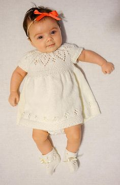 Ravelry: Jasmine Dress pattern by Suzie Sparkles Jasmine Dress, Knit Baby Dress, Angel Dress, Flower Girl Dresses, Baby Dresses, Dress Collection, Baby Knitting, Sparkles, Ravelry