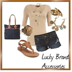 Lucky Brand Accessories, created by juarezcourtney on Polyvore