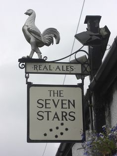 Tamerton Foliot Pub Sign Seven Stars Inn |