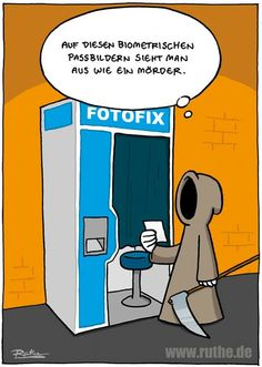 #funny #cartoon #ruthe.de Silly Jokes, Good Jokes, Funny Jokes, Hilarious, Create Your Own World, Comic Book Collection, Jokes In Hindi, Learn German, Comic Styles