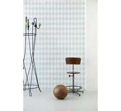 behangpapier Harlequin green - behangpapier - kamerinrichting - Ferm Living - Lunabloom - ...