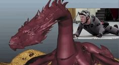 Watch Benedict Cumberbatch on all fours in his mo-cap suit as Smaug