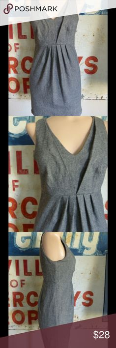 """Anthropologie Silence + Noise Wool Blend Dress 2 Condition: Excellent Color: Gray Fabric: Wool Blend.  Measurements:  32"""" length 15.5"""" side to side at the waist 13.5"""" side to side at the waist Anthropologie Dresses"""