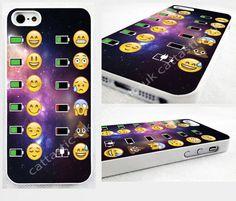 space, alien,poop,Emoji,battery,iPhone 4,4s, 5C, 5S,5,6,6 plus glossy cover Case