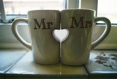 These are the perfect mugs to share with your sweetheart! #MugClub #Love #mrcoffee