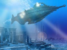 """Nautilus Leagues Under the Sea"""" (Art Work) Steampunk, Leagues Under The Sea, Amazing Art, Alternate History, Jules Verne, Submarine Games, Illustration Artwork, Nautilus Submarine, Cool Pictures"""